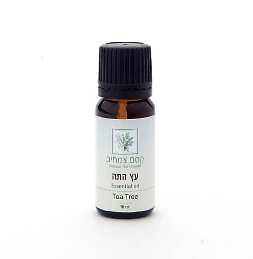 שמן אתרי עץ התה קסם צמחים