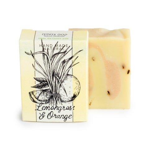 סבון טבעי למונגראס ותפוז