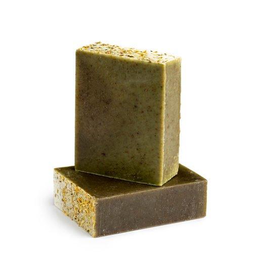סבון טבעי מנטה וספירולינה קסם צמחים