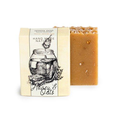 סבון טבעי דבש בקוואקר - קסם צמחים סבונים טבעיים בעבודת יד