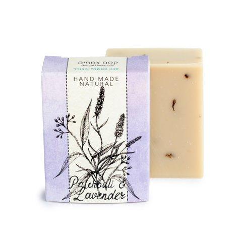 סבון פטשולי לבנדר קסם צמחים