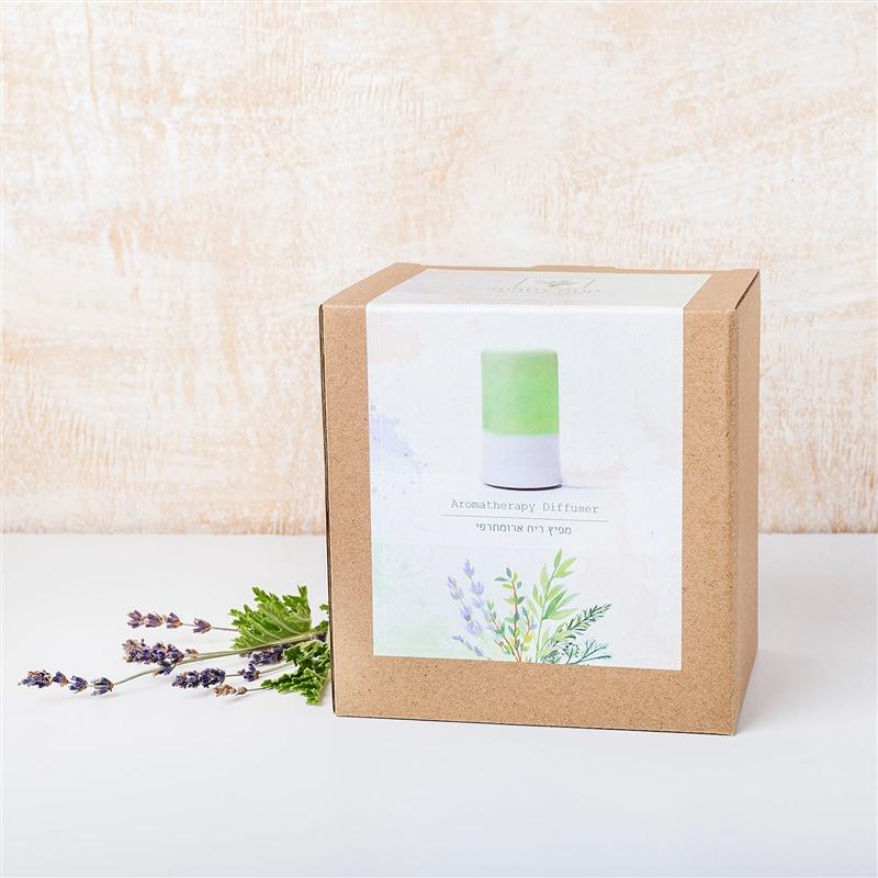 מפיץ ריח חשמלי ארומתרפי קסם צמחים